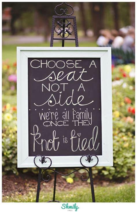 diy chalkboard signs for weddings 10 most diy wedding signs from weddingmix
