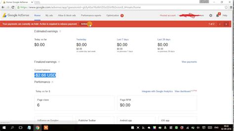 adsense balance adsense showing negative amount in current balance youtube