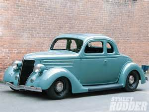 1936 ford business coupe 5 window hotrod rod custom