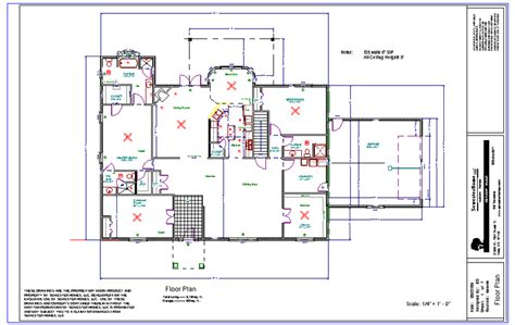 working drawing floor plan working plans drawing