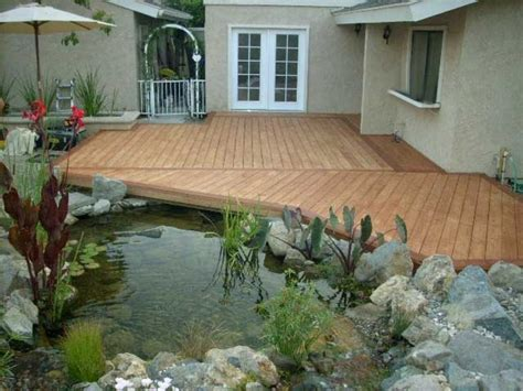 peace meditation nearby beautiful koi fish pond design