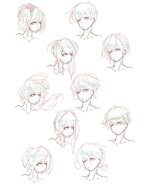 anime ninja hairstyles hair styles by lazy the king on deviantart