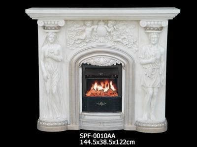 electric fireplace marble marble finish electric fireplace spf 0010ab china