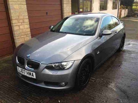 bmw 3 series 2 litre diesel bmw 2007 3 litre turbo diesel coupe with f1 paddle shift