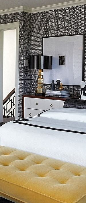 bold black and white bedrooms with bright pops of color accent l ideas that usher in bold color and cool contrast