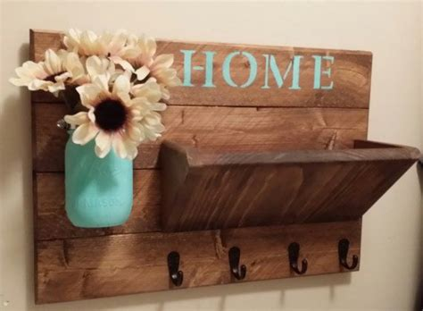 key home decor rustic home decor key holder home by teestransformations