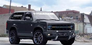 Ford Bronco News News The New Ford Bronco Will Reportedly Be Developed In