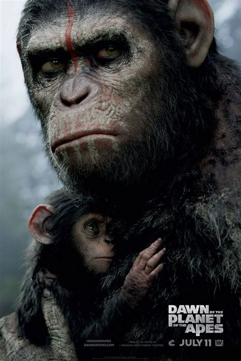 awn of the planet of the apes dawn of the planet of the apes gets tv spot poster
