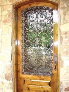 Faux iron door cover eclectic front doors dallas by budget