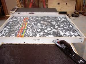 creating concrete countertops how to avoid bug holes pin
