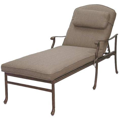 aluminum chaise lounge patio furniture chaise lounge cast aluminum sedona