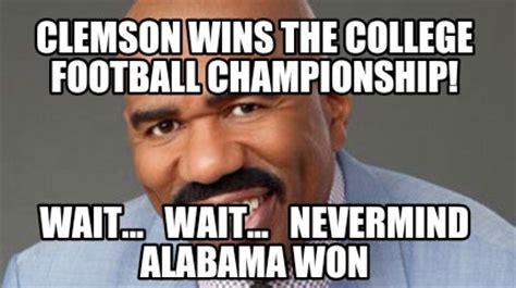 Clemson Memes - meme creator clemson wins the college football