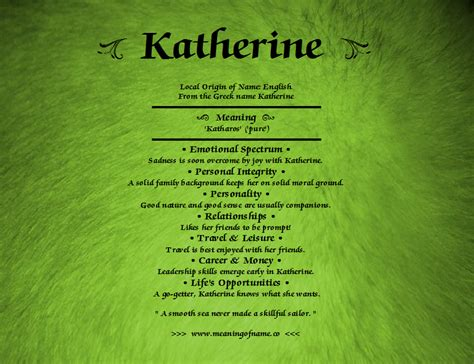 meaning of the name katherine meaning of name
