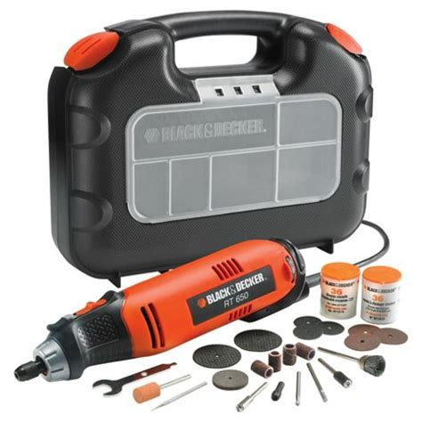 black und decker multitool buy black decker 90w rotary multitool kitbox rt650ka from
