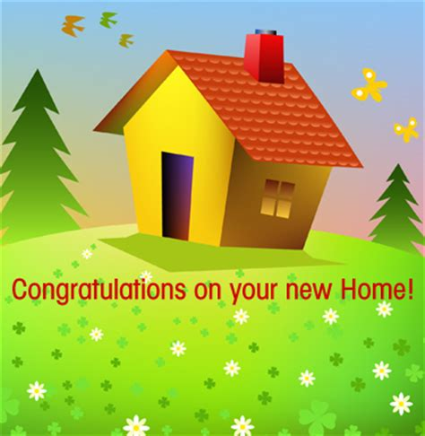 new house congratulations new home greeting