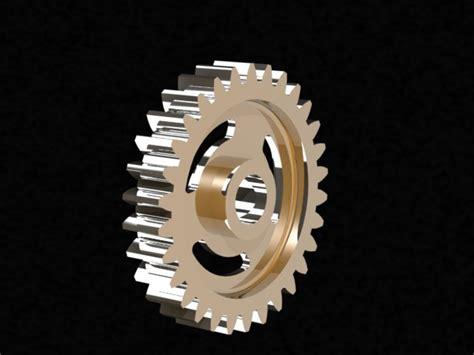 toothed wheel step iges 3d cad model grabcad
