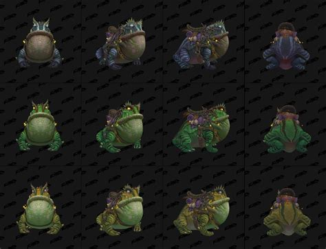 wow wird in battle for frosch als reittier in battle for azeroth