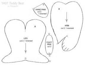 simple teddy bear pattern by azaleapoena on deviantart 1907 teddy bear pattern 2 by viergacht on deviantart