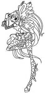 winx club stella sirenix coloring pages