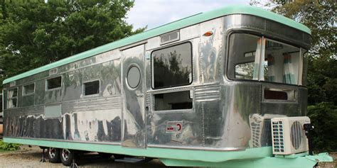 tiny trailer houses for sale this baby boomer trailer is the cutest tiny home tiny