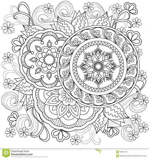 coloring pages adults mandala mandalas pinteres