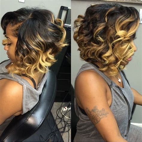 curly prom pin ups for black women 30 trendy bob hairstyles for african american women 2018