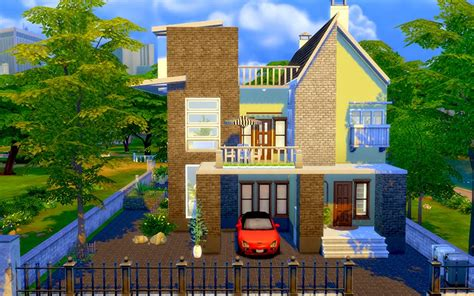 house plans and design modern house plans sims 4 the sims 4 contemporary modern house homeless sims