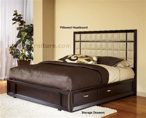 urban bedroom furniture urban chic platform storage bedroom set