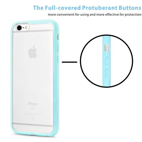 Iphone 6 47 Inch Premium Hardcase Green Bumper Water Resistant galleon iphone 6 5 pcs ace teah iphone 6 6s 4 7 inch protective back matte