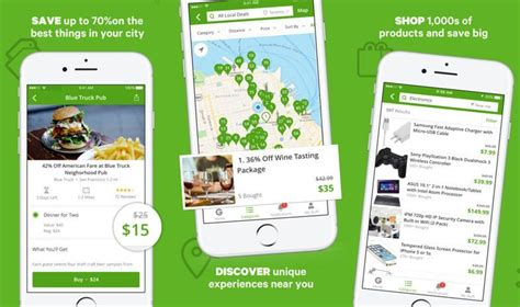 groupon mobile app 7 best iphone android apps to save money on shopping