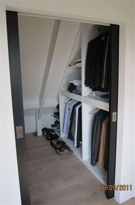 Creative Closet Door Solutions by Creative Attic Storage Ideas And Solutions Attic Closet
