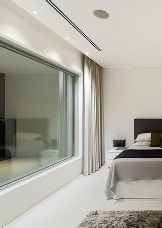 recessed window curtains curtain recessed pelmet master bedroom villa escarpa by