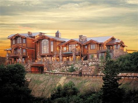 log home mansions deerfield estates log mansion nice homes pinterest