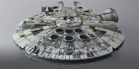 1 144 Millenium Falcon The Awakens 1 144 scale millennium falcon the awakens model from blue fin another universe