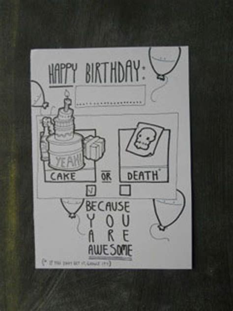 what to draw on a day card 40 birthday cards doodlers anonymous