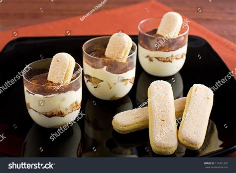 traditional italian dessert tiramisu dessert stock photo