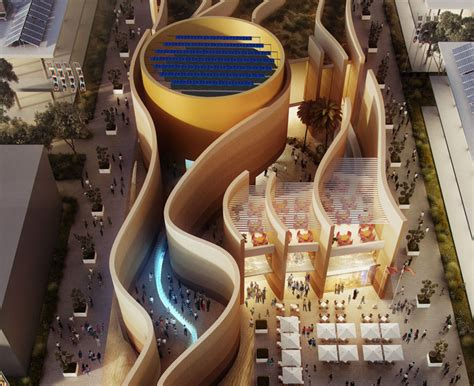 designboom expo 2015 uae pavilion for 2015 milan expo by foster partners