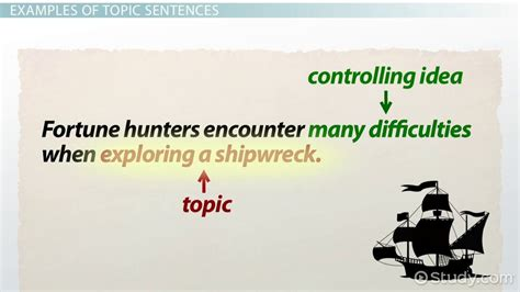 scow used in a sentence what is a topic sentence exles definition video