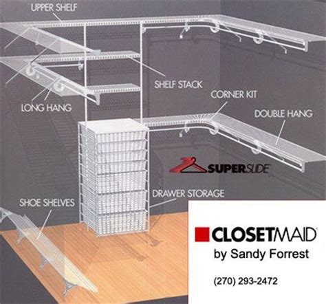 Closet Rod For Wire Shelving 25 Best Ideas About Wire Closet Shelving On