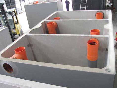 degrassatori per cucine degrassatori statici in cemento per cucine di ristoranti
