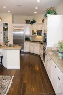 pictures of kitchens traditional off white antique how to decorate kitchen flooring for white cabinets my