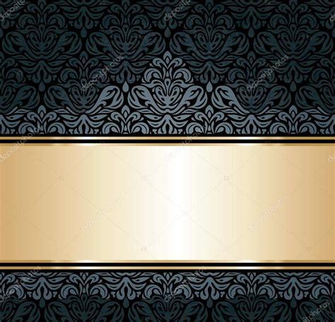 Se Vintage Black black and gold vintage wallpaper wallpaperhdc