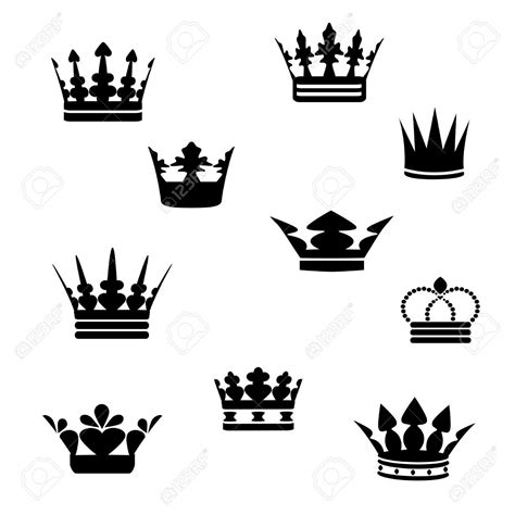 small crown tattoo designs small black crowns tattoos designs