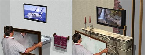 how to install tv in bathroom bathroom tv mirror faq
