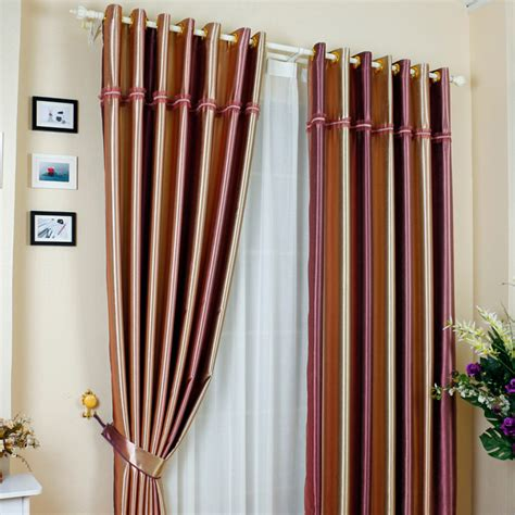 colorful bedroom curtains colorful vertical striped print polyester insulated