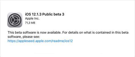 apple udostępnia publicznym beta testerom trzecią wersję