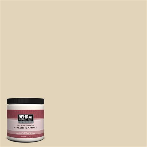 behr premium plus ultra 8 oz s250 3 honey nougat interior exterior paint sle ul20416 the