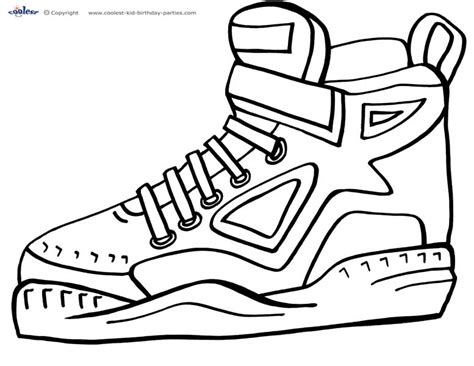 coloring pictures of basketball shoes basketball shoe coloring pages 28 images nike