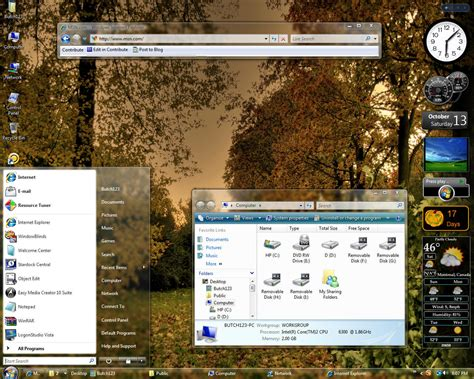 computer themes xp vista free download pc themes free download driverlayer search engine