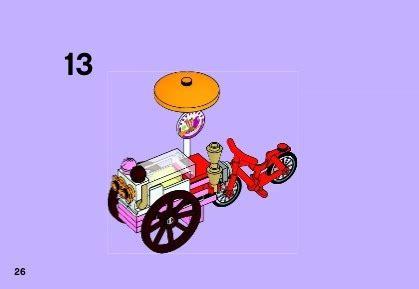 Lego 41030 Friends Olivias Bike lego s bike 41030 friends